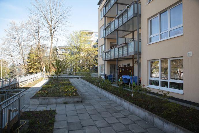 Barrierefreie 2-Zimmerwohnung nähe Stadtpark