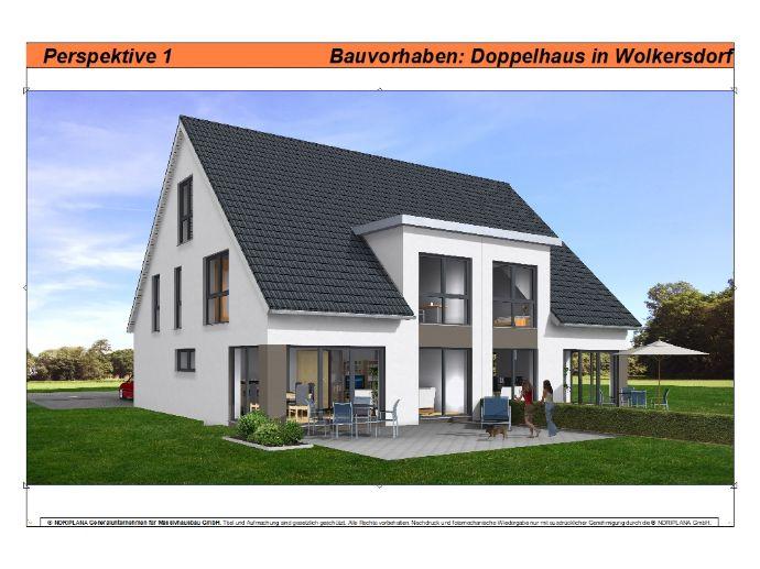 Neubau-Doppelhaushälfte (1) in Wolkersdorf