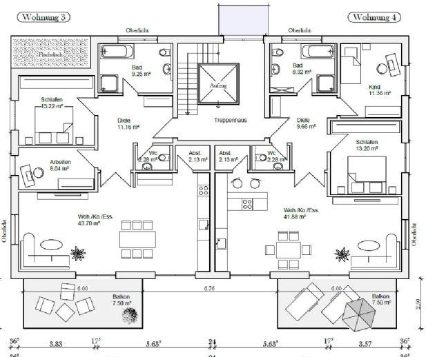 Wohnungen in traumhafter Wohnlage mit S-Bahnanschluss