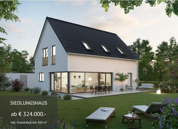 Modernes Siedlungshaus inkl Grundstück - Edition