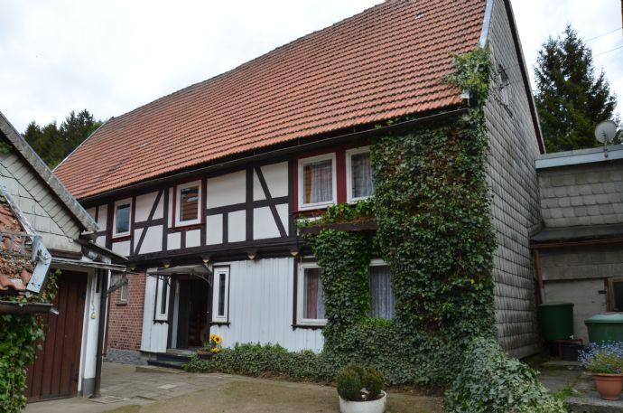 Wohnhaus mit Scheunenanbau im Wanderparadies Trautenstein