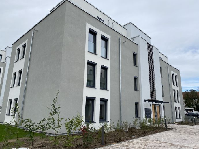 200m² Garten in zentraler Lage  top Neubauwohnung!