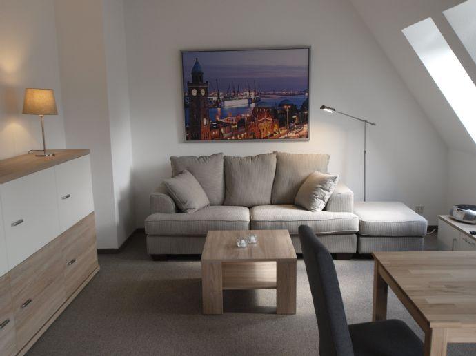 BESTE LAGE IN WEDEL modern, möblierte 1 Zimmer Wohnung