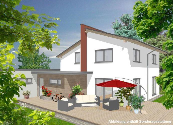 Ihr modernes Einfamilienhaus mit Pultdach in Altchemnitz