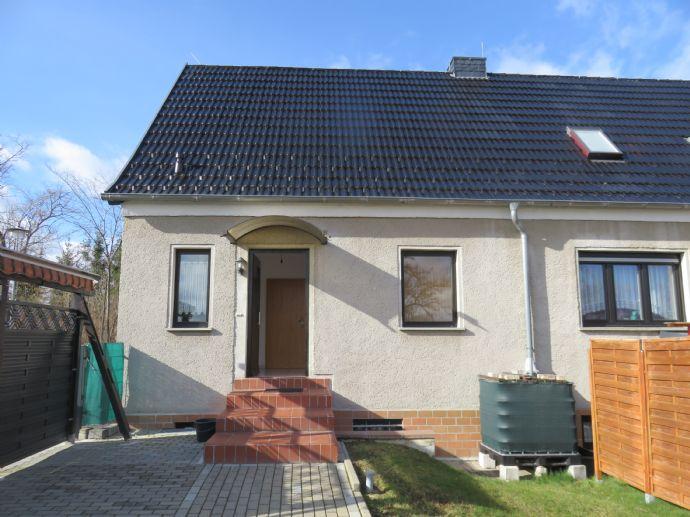 Sonnige Doppelhaushälfte (3-Raum-Whg.) in Neckeroda zur Miete