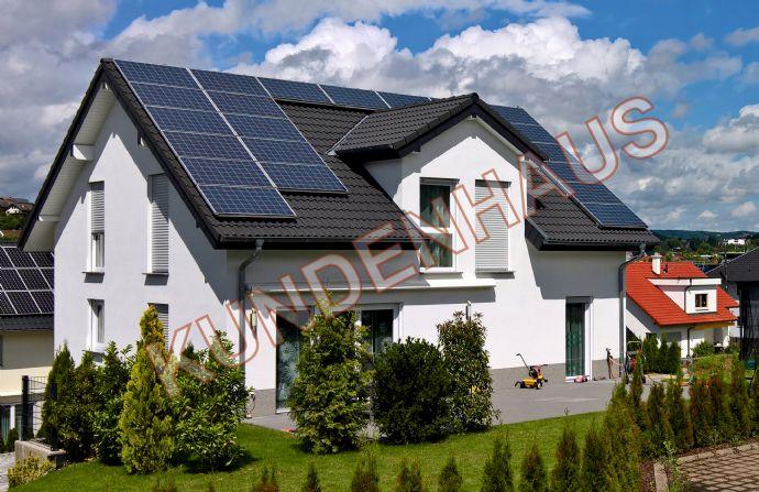 ''Wir bauen Ihr Einfamilienhaus'' Augustin Hausbau GmbH seit 40 Jahren (nachfolgendes Hausangebot projektiert ohne Grundstück)