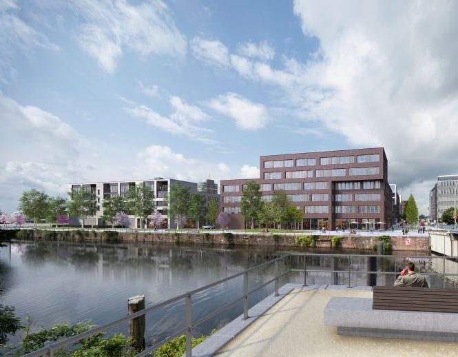 3-Zimmer Neubauwohnung mit Wasserblick direkt am Binnenhafen!