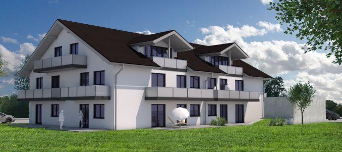 Neubau 3-Zimmer-Wohnung in Erding Bajuwarenstrasse