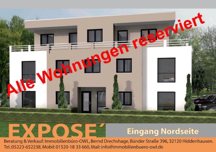 Neubau von 4 Eigentumswohnungen plus