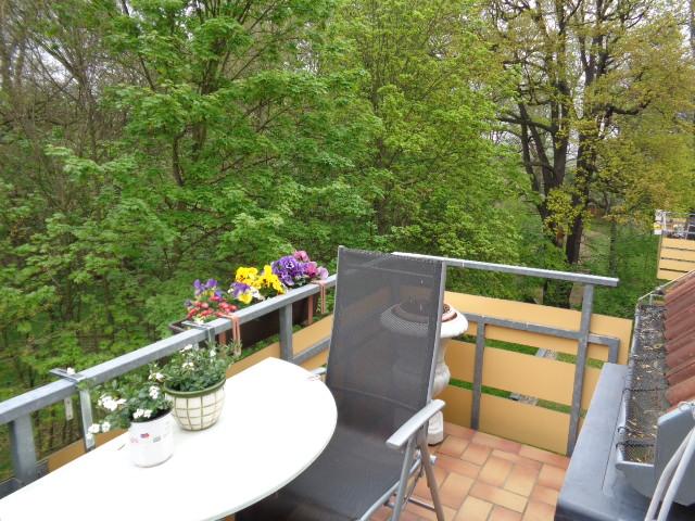 Maisonette-Wohnung mit Einbauküche & Balkon in Bautzen OT Nadelwitz