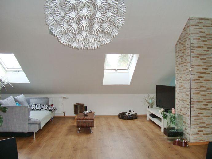 Eine Studiowohnung mit freiem Blick über Wennigsen