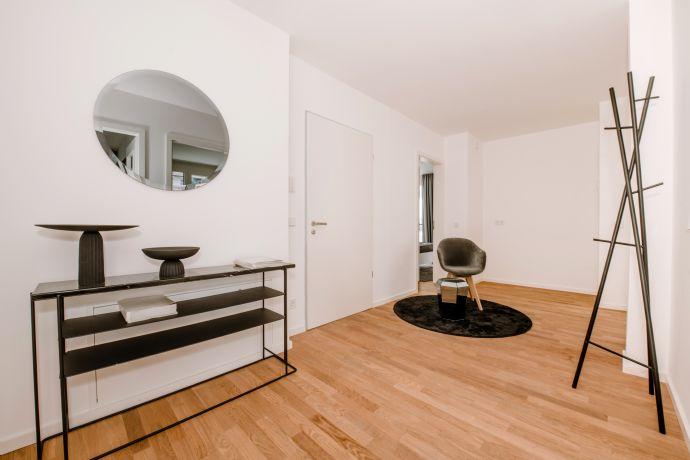 Exklusive 4-Zimmer-Neubauwohnung mit Balkon und Loggia