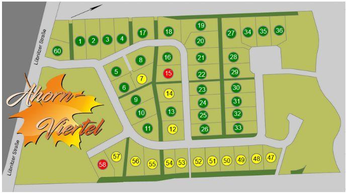 Ahorn-Viertel Bad Belzig - über 50 Baugrundstücke