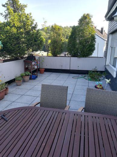 Bewohnte Terrassenwohnung 92 qm inkl
