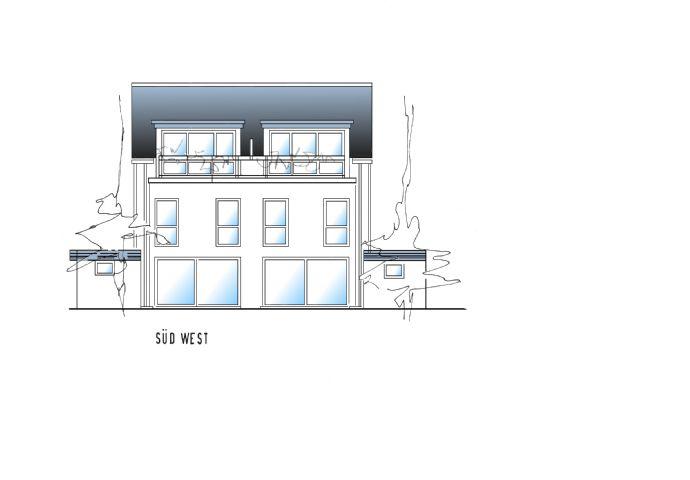 Neubau Doppelhaushälfte in Solingen