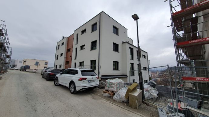 3-Zimmer Wohnung mit grosser Terrasse und traumhaften Blick auf Jena ab sofort- Erstbezug !