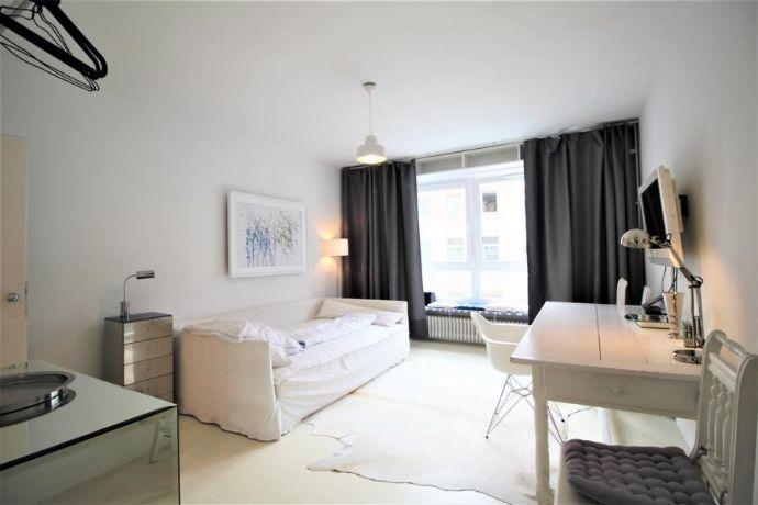 1-Raum-Wohnung möbliert im Herzen von Flingern-Nord