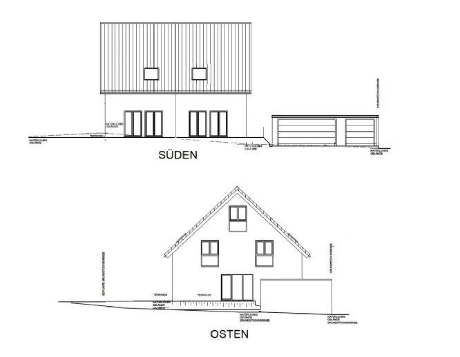 Neubau 2 ruhige moderne DHH