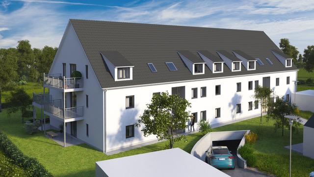 3 ZKB Neubauwohnung Erstbezug mit zwei Balkonen