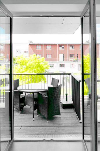 Kassel/ An der Fulda/Unterneustadt Moderne, stilvolle 3-Zimmer-Wohnung mit großem Balkon, mit oder ohne Mobiliarâ¦.