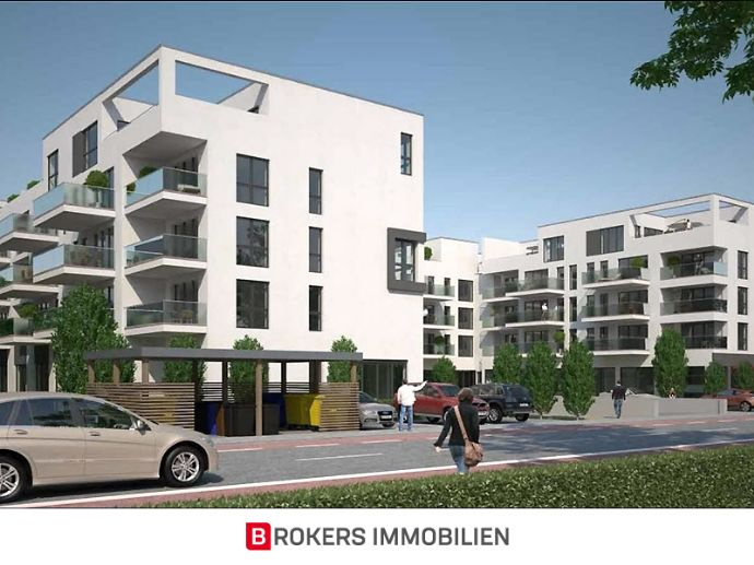 Neubau-Erstbezug: Exklusive 4-Zimmer-Wohnung inkl. Küche & Stellplatz