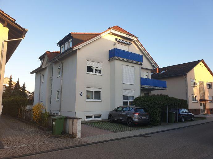 Wohlfühlen braucht ein Zuhause Maisonette-Wohnung in Kirrlach