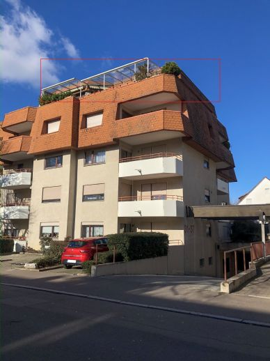 Penthouse-Wohnung in zentrumsnaher Lage