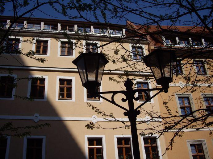 2-Zi.-Wohnung mit Charme im DG eines restaurierten Fachwerkhauses in der Pirnaer Altstadt