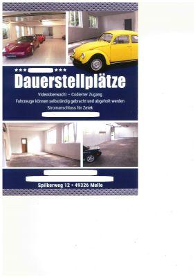 Melle Garage, Melle Stellplatz
