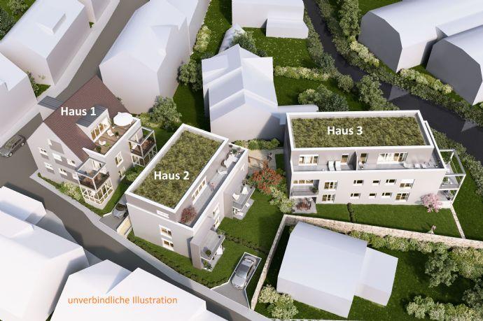 Singles aufgepasst: Ideal geschnittene 2-Zimmerwohnung mit Terrasse und Gartenanteil