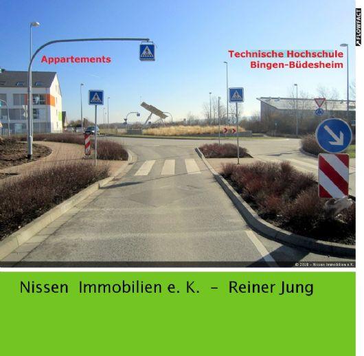**Neubau-Apartment - direkt an der TH in Bingen-Büdesheim! Nur für Studenten, Schüler und AZUBIS !**