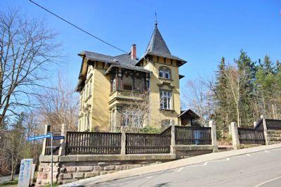 Helle 2-Raum-Dachwohnung in denkmalgeschützter Jugenstil-Villa