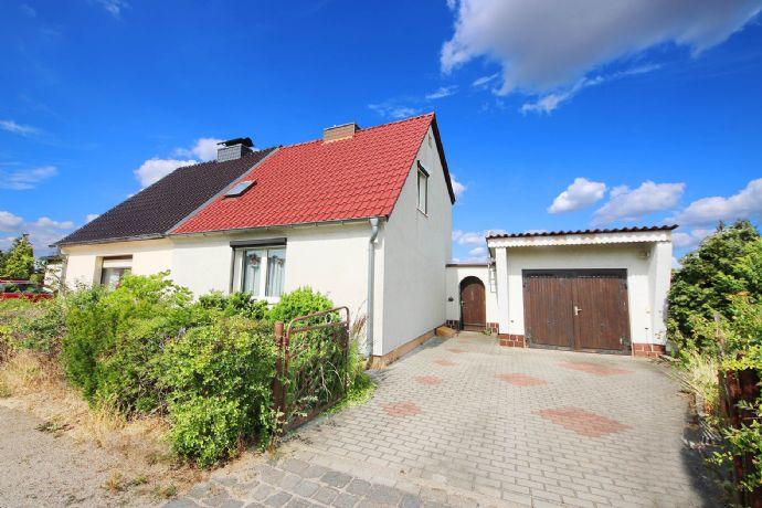 Doppelhaushälfte in Raguhn