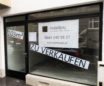 Wien Ladenlokale, Ladenflächen