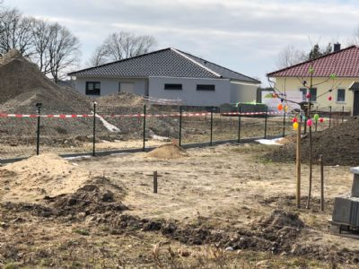 Baugrundstück für Stadtvilla in Groß Gaglow