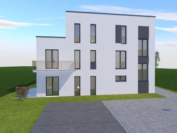 Neubau mit 5 ETW, Stellplatz, Aufzug, Garten, etc.