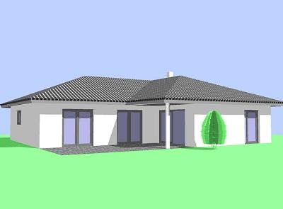 Bungalow mit 4 Zimmer, großzügiges Wohnen auf einer Ebene