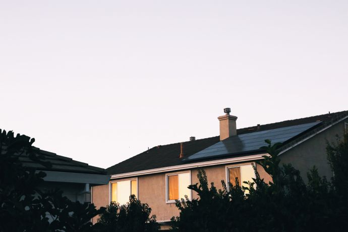 Kleines Einfamilienhaus mit Garten