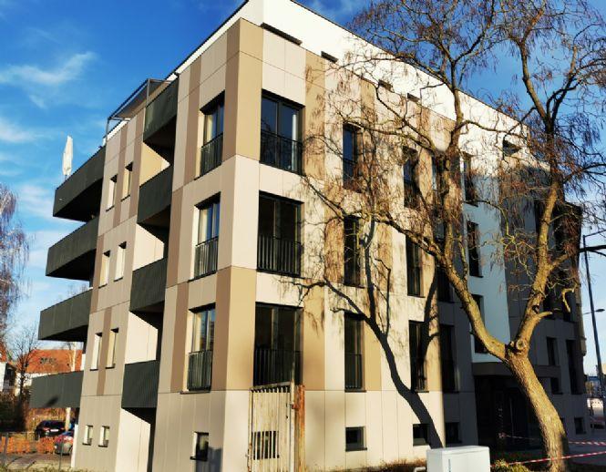 Modern & attraktiv - Hochklassige Neubauwohnung mit großem Balkon