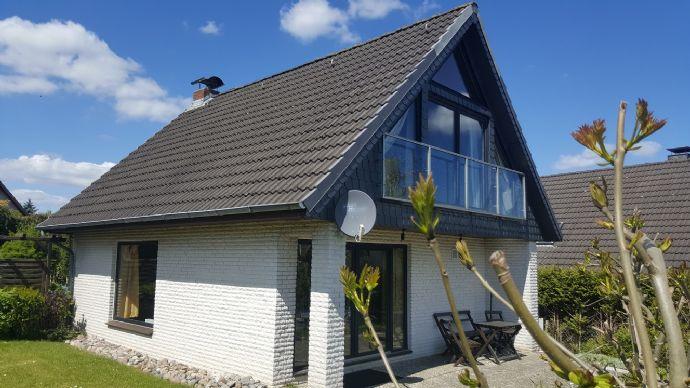 Ferienhaus mit Osteseeblick
