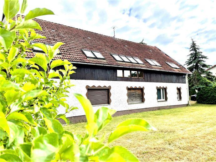 LEHNITZSEE-IMMOBILIEN Zweifamilienhaus mit Scheune