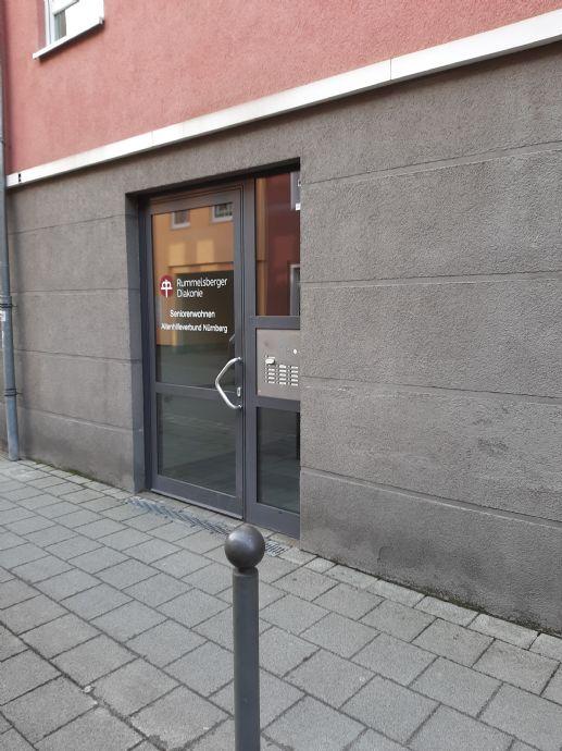 Seniorenwohnung ab 65. Jahre mit Serviceleistungen im Zentrum der Metropolregion Nürnberg