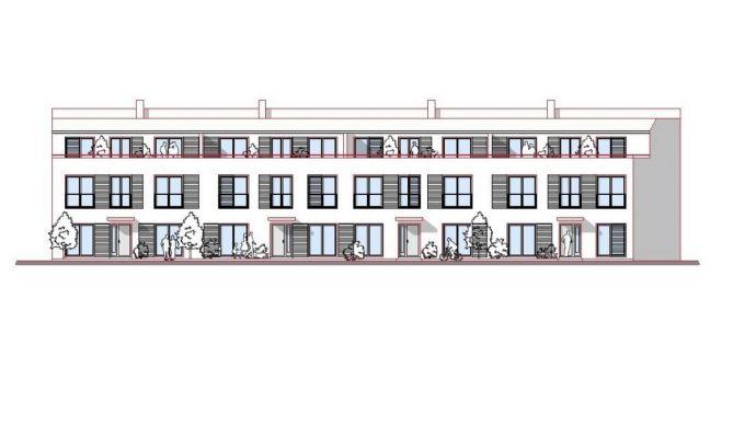 4-5 Zimmer-Wohnung im Reihenhausstil mit Dachterrasse und ausbauf. Studio, Erstbezug nach Sanierung