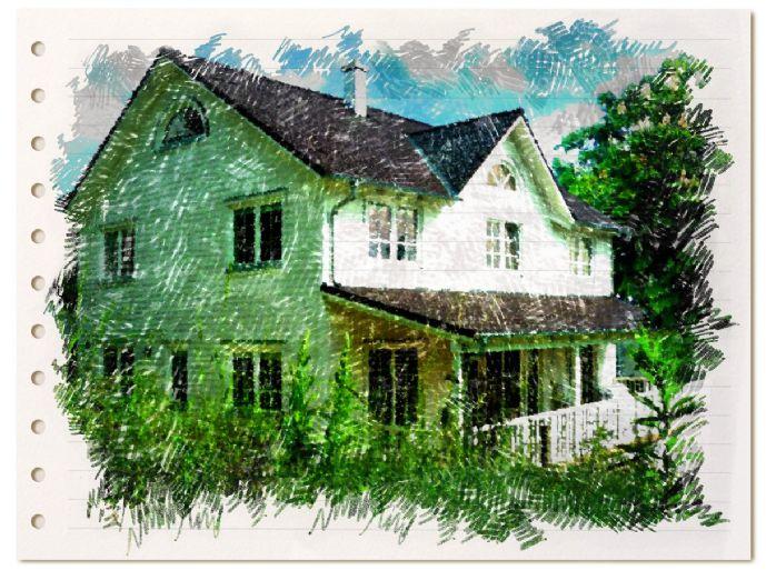Beeindruckende Villa im New England-Stil auf beeindruckendem Grundstück mit sehr altem Baumbestand in einmaliger Symbiose!