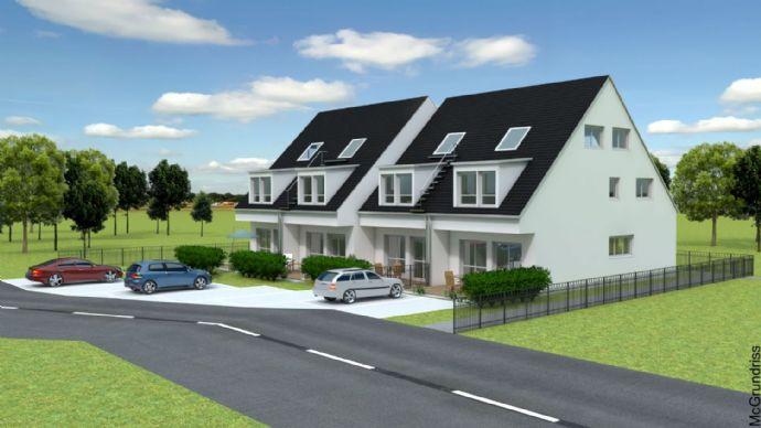 ***Neubau eines modernen Reihenhauses in Toplage von Pommelsbrunn***