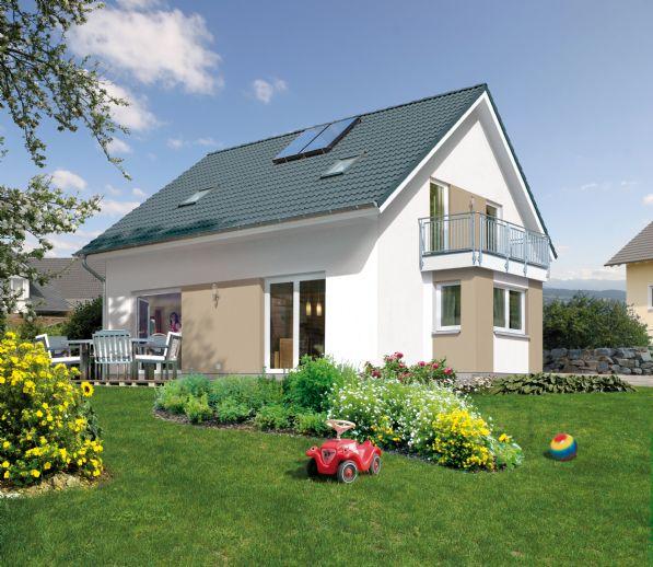 Einfamilienhaus und allen Innenausbaumaterialien und