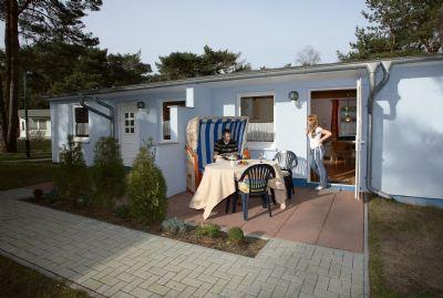 Gemütliche Doppelhaus-Hälfte Nr. 26 im Ferienpark Kiefernweg Ostseebad Zinnowitz