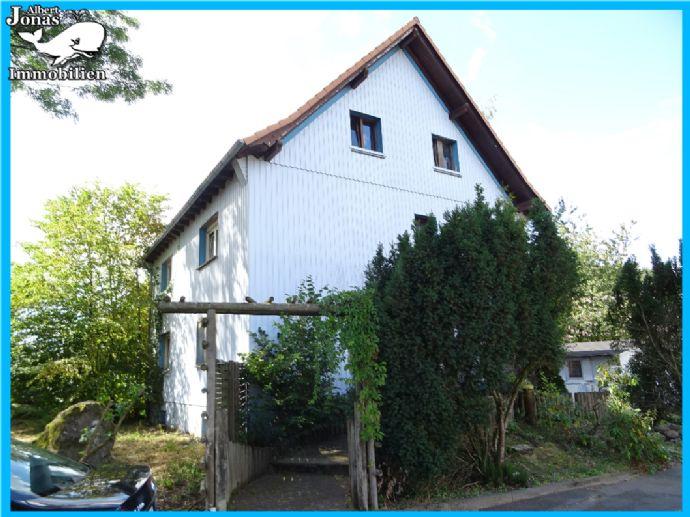 Grebenhain Metzlos: 3 Familienhaus in naturnaher, schöner Lage mit großem Grundstück, Teich, Garten