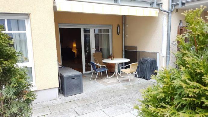 2-Zi-Terassenwohnung im Betreutes Wohnen, barrierefrei