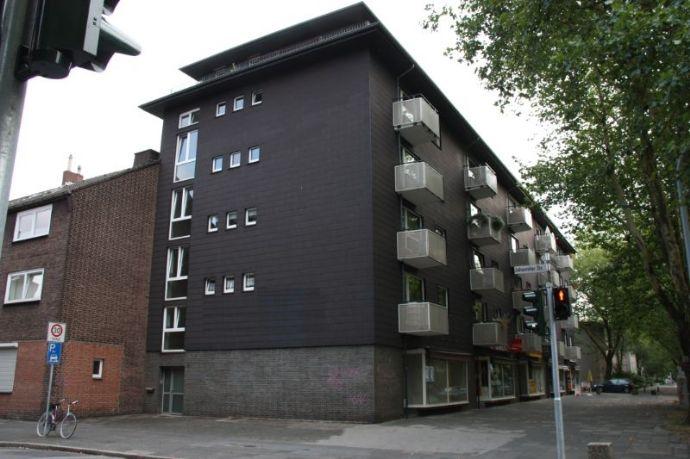 Sehr schöne 2 Zimmerwohnung mit Tageslichtwannenbad und Gäste - WC in Duisburg zu vermieten